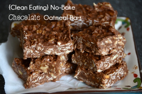 No Bake Chocolate Oatmeal Bars Snickerdoodles Jum Jills Pumpkin ...